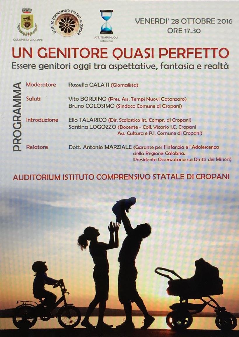 Logo Convegno Un Genitore Quasi Perfetto A.Marziale 281016
